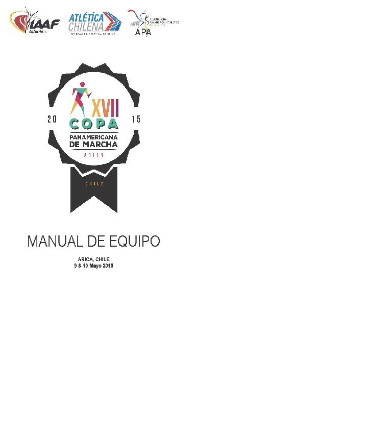 LOGO COPA PANAMERICANA DE MARCHA