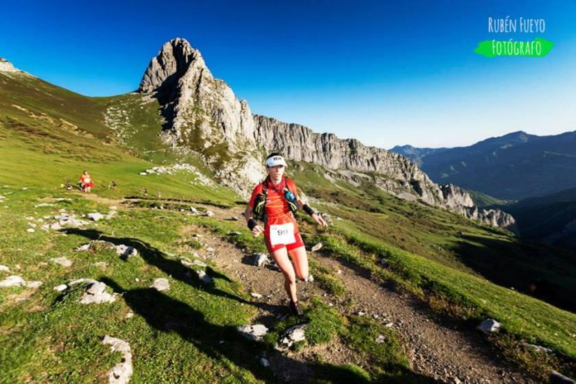 trail y montaña