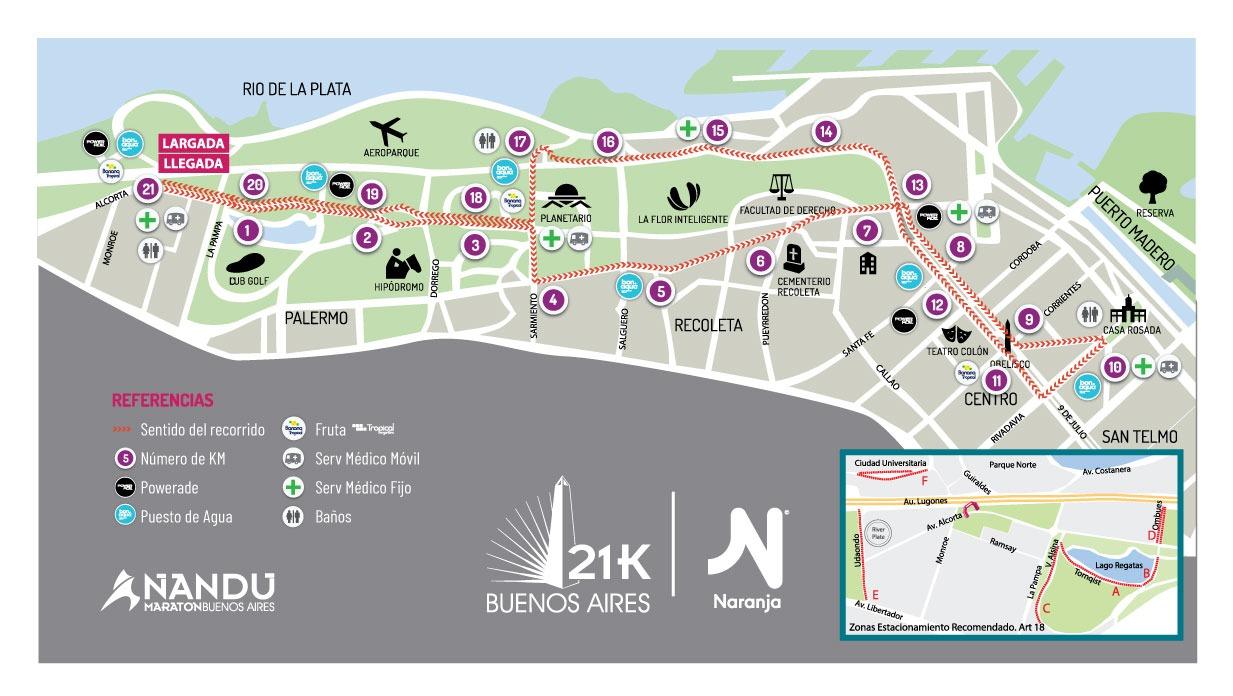 Plan de entrenamiento maraton powerade 2020